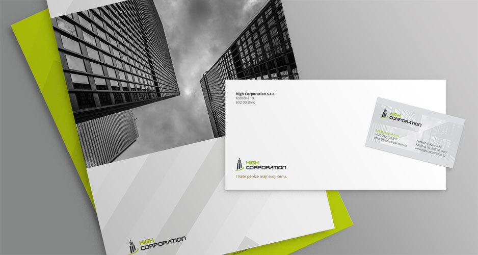 high corporation corporate identity